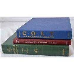3 Books On Colt Firearms.