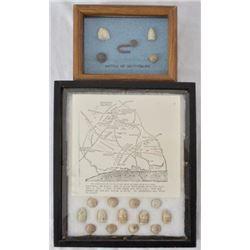 Gettysburg & Shiloh Civil War Battlefield Relics