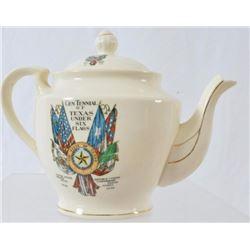 Texas Centennial Tea Pot