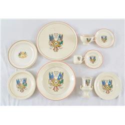 Texas Centennial Souvenir China Collection