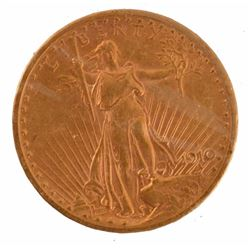 1910-S $20 U.S. Gold Coin