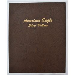 Set of American Eagle Silver Dollars