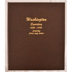 Collector Set Of Washington Quarters 1932-1998