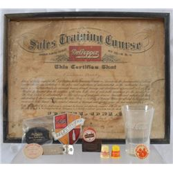 Collection of Dr. Pepper Memorablia
