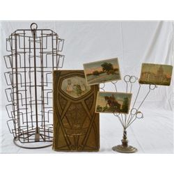 Postcard Racks & Cards