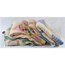 5 Antique Quilts
