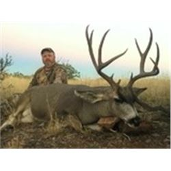 Trophy Mule Deer Rifle Hunt in New Mexico