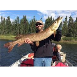 5 Day Pagato Lake Outpost Camp Fishing Trip for 4