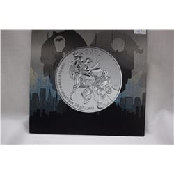 2016 Canada Twenty Dollar Silver Coin - Batman vs Superman