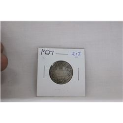 Canada Twenty-Five Cent Coin (1) 1927 (Low Mintage) - Silver