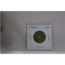 Canada Twenty-Five Cent Coin (1) 1903 - Silver