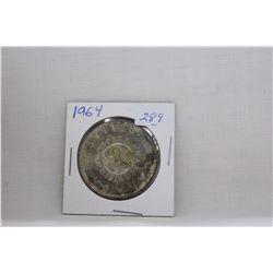 Canada Dollar Coin (1) 1964 - Silver
