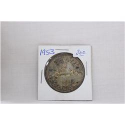 Canada Dollar Coin (1) 1953 - Silver