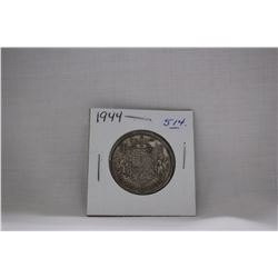 Canada Fifty Cent Coin (1) 1944 - Silver