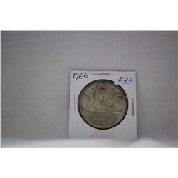 Canada One Dollar Coin (1) 1966 - Silver