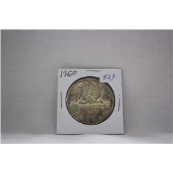Canada One Dollar Coin (1) 1960 - Silver