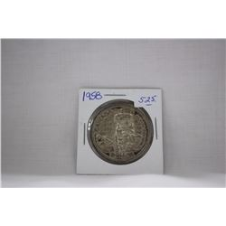 Canada One Dollar Coin (1) 1958 - Silver