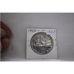 Canada One Dollar Coin (1) 1953 - Silver