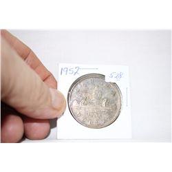Canada One Dollar Coin (1) 1952 - Silver