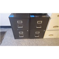 2 - DR METAL FILE CABINETS