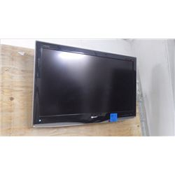 "SHARP AQUOS 37"" FLAT SCREEN TV W/WALL MOUNT AND REMOTE"