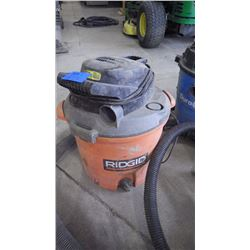 RIGID 5 H.P. 4 GAL SHOP VAC PLUS RIGID 5 H.P. 12 GAL SHOP VAC (NO WHEELS)