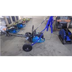 MAKITA MM4  EK7651H GEO RIPPER WITH CART AND CUT OFF SAW CONVERSION KIT. ALL NEW AND UNUSED