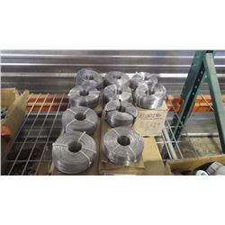 APPROXIMATELY  40 ROLLS OF STAINLESS STEEL WIRE LASHING (1200FT PER COIL)