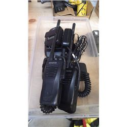 2 KENWOOD RADIOS W/CHARGERS