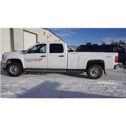 2013 GMC 3500 SIERRA CREW CAB 4 X 4 LONG BOX 6.0L V8 GAS VIN 1gt422cg0df138074 …NO PST...WITH 131912