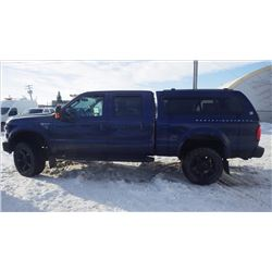 2009 FORD F350 HARLEY DAVIDSON SPECIAL EDITION CREW CAB 4 X 4 VIN 1FTWW31R19EA64636....NO PST....WIT