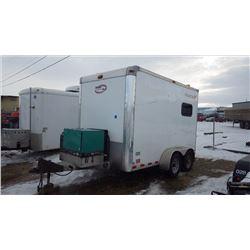 2014 MOBILE TECH SPLICE TRAILER VIN 1MB9BE1222EA859118 WITH CUMMINS ONAN DIESEL GENERATOR, AIR CONDI