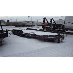 2017 Diamond C 48HDTL Tri Axle Tilt trailer S/N 46UFU2437H1189161