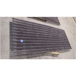 2 - 4 X 10 SHEETS UNUSED PRECISION GRATE FIBERGLASSS DRAINAGE GRATE (IDEAL FOR SHOP INSTALLATION)