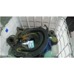 TUB OF PUMP HOUSING AND FLANGES