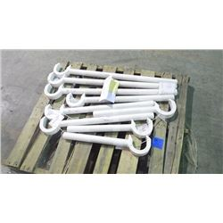 PALLET WITH 9 VENABLES #27 SWIVEL TOOL HANDLE