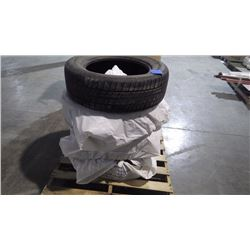 PALLET WITH 4 USED MASTERCRAFT 235/65/R-18 TIRES