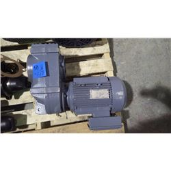 UNUSED SEW EURO DRIVE 5 HP 575 VOLT 3 PHASE GEAR BOX AND MOTOR