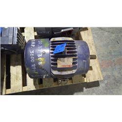 GE REBUILT 10HP 3 PHASE 575 VOLT LECTRIC MOTOR