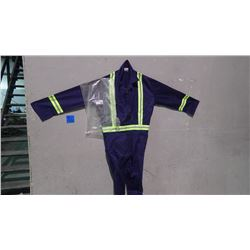 UNLINED CONTRACTOR 5 PAIR COVERALLS - SIZE 38R