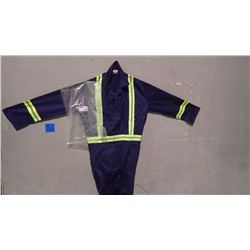 UNLINED CONTRACTOR 9 PAIR COVERALLS - SIZE 40R