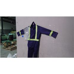 UNLINED CONTRACTOR 6 PAIR COVERALLS - SIZE 52T