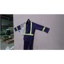 UNLINED CONTRACTOR 4 PAIR COVERALLS - SIZE 54R