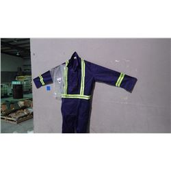 UNLINED CONTRACTOR 10 PAIR COVERALLS - SIZE 56R