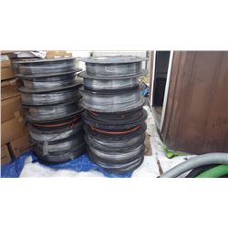 CORNING FIBRE OPTIC CABLE EIGHT ROLLS