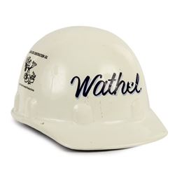 Wathel Rogers Walt Disney World Construction Hard Hat.