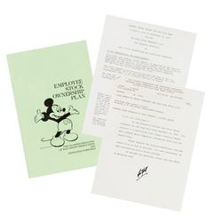 Disney Employee Stock Ownership Plan Documents.