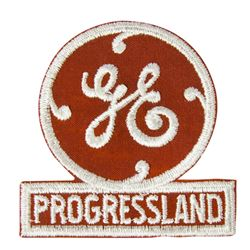 "General Electric's ""Progressland"" World's Fair Patch."