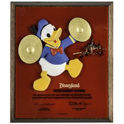 Disneyland Entertainment Division Service Award.