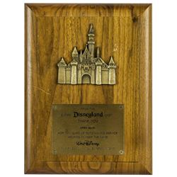Disneyland 10-Year Service Award.